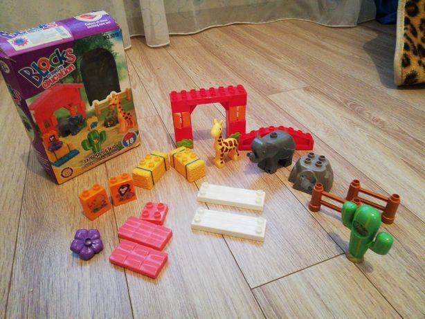 Лего для самых маленьких, конструктор, зоопарк