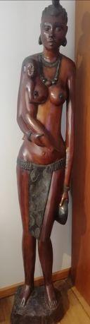 Arte Africana em madeira