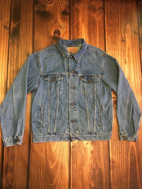 LEVIS r.XL oryginalna kurtka jeansowa Vintage w dobrym stanie