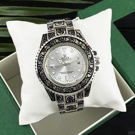 Rolex Submariner с гравировками. Наручные мужские-женские часы Ролекс.