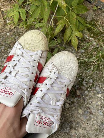 Adidas superstar сгорел носок