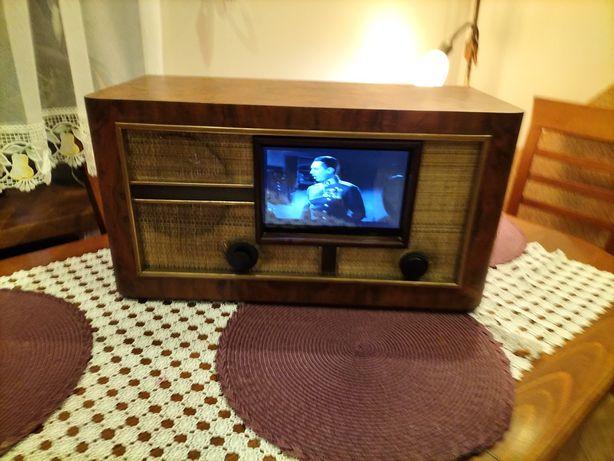 Replika starego telewizora retro