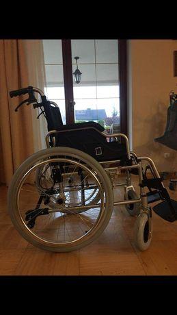 Wózek inwalidzki aluminiowy nowy