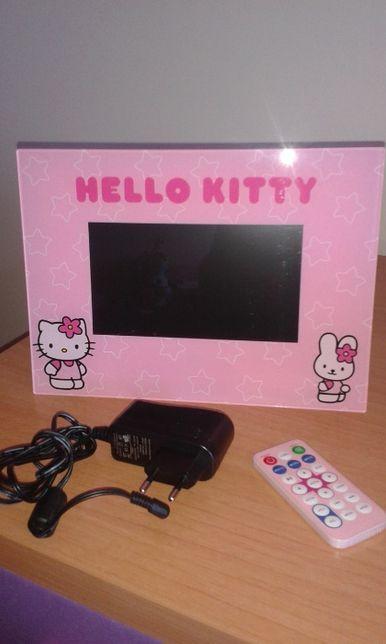Moldura Digital Hello Kitty