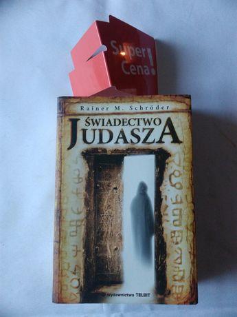"książka ""świadectwo Judasza"" Rainera Schrödera"
