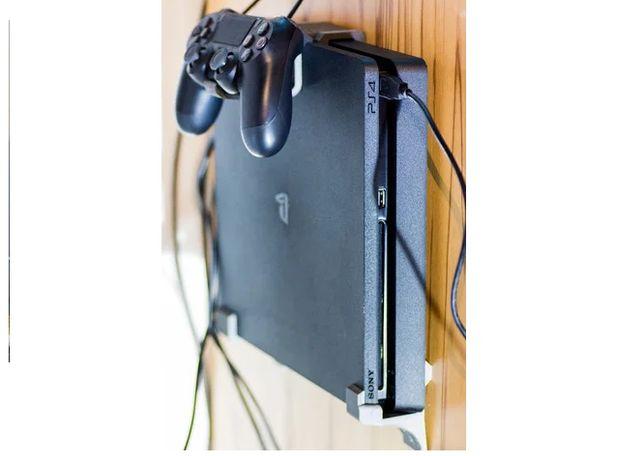 Suporte de parede para Playstation PS4 - PORTES gratuitos