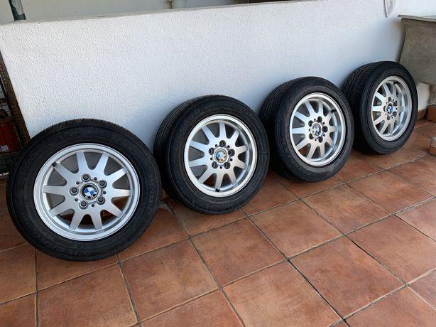 Vendo jantes bmw style 28, 15 com pneus