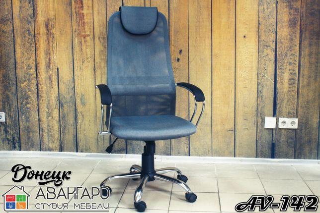 """Офисное компьютерное сетчатое кресло для дома и офиса """"AV-142"""""""