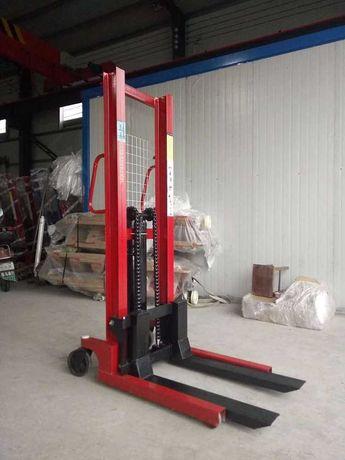 Штабелер на 2000 кг, выс под 1600 мм. Гидравлический ручной штабелер
