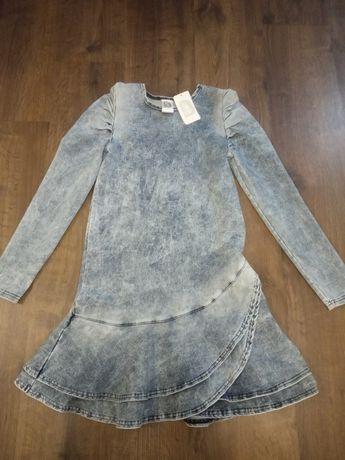 Sukienka jeansowa 152/158 nowa