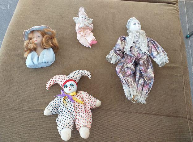 Bonecas de porcelana