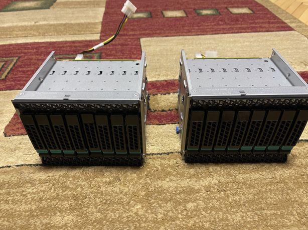 SAS raid (диски з корзиною) (8 дисків + корзина)