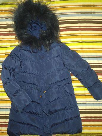 Зимнее пальто размер 116-122