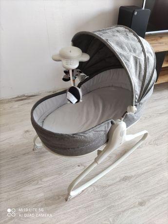 TINY LOVE Leżaczek Krzesełko 3w1 z budką + materac dla noworodka