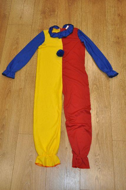 pajac, klaun strój karnawałowy