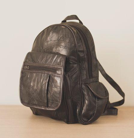 Plecak ciemnobrązowy