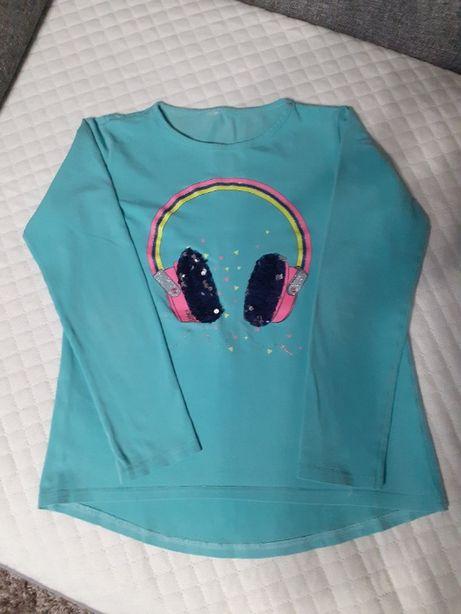bluzka dla dziewczynki r 134/140