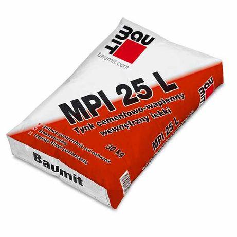 Tynk cementowo-wapienny Baumit MPI 25