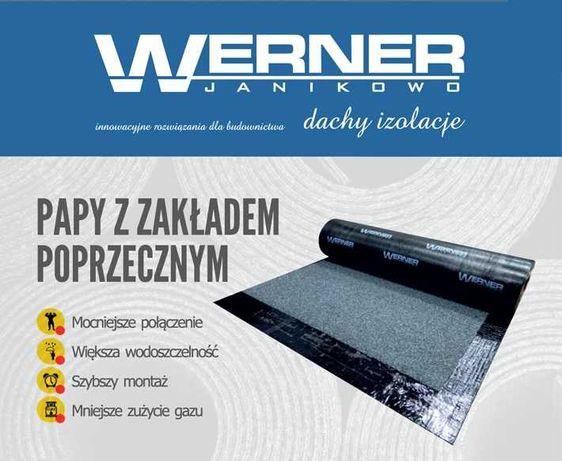 Werner - silny, SBS papa wierzchniego krycia