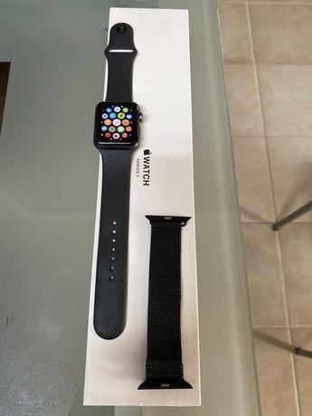 Aplle watch series 3 42mm (GPS+cel) 170€