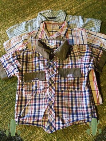 3 koszule dla chłopca rozm. 92-98