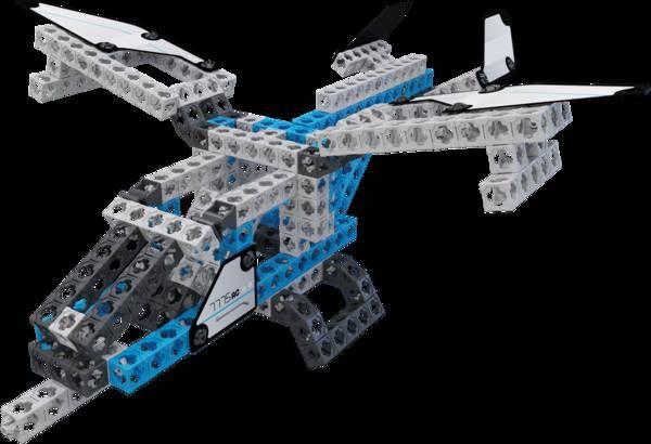 Конструктор Twickto 1 Авиатор космический грузовой самолет 318 деталей