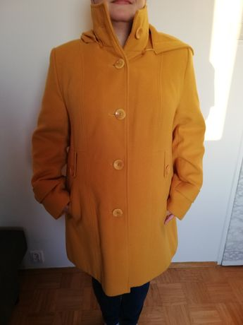 Żółty płaszcz xxxl