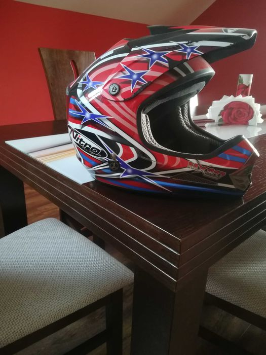 Kask motocyklowy/kross Busko-Zdrój - image 1