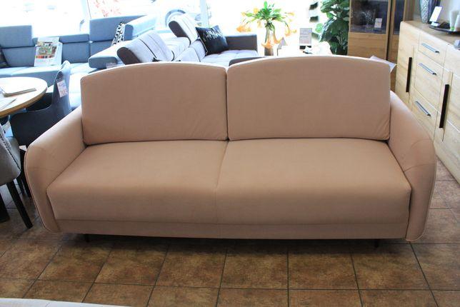 Funkcjonalna rozkładana sofa LAGUNA różowa w obniżonej cenie
