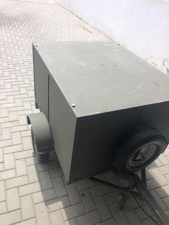 Atrelado de caça c/ 2 compartimentos