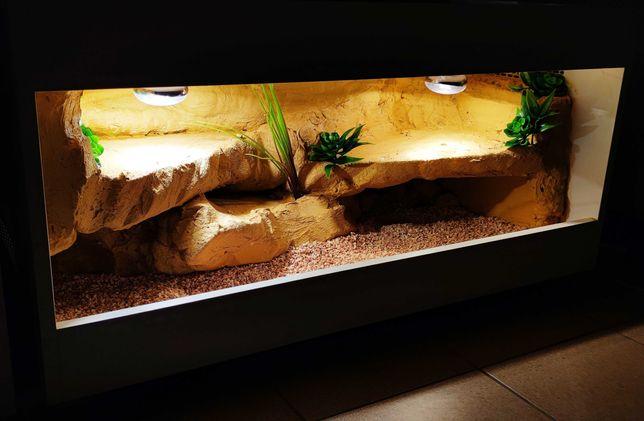 Terrarium 120x60x50cm agama gekon żółw kameleona