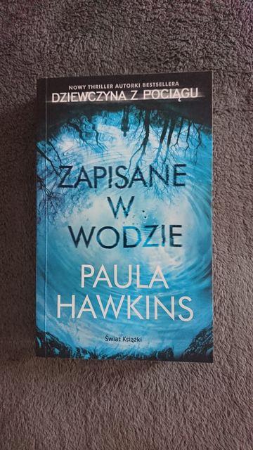 Książka Zapisane w wodzie Paula Hawkins