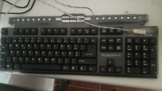 Teclado PC multifunções