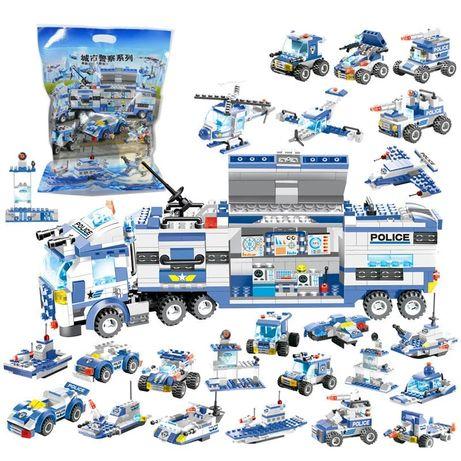 Klocki policja 762 szt zestaw policyjny jakosc lego