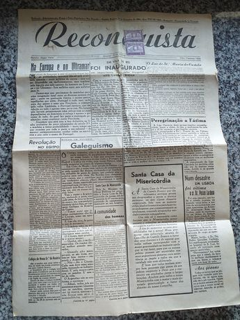Jornal reconquista setembro 1952