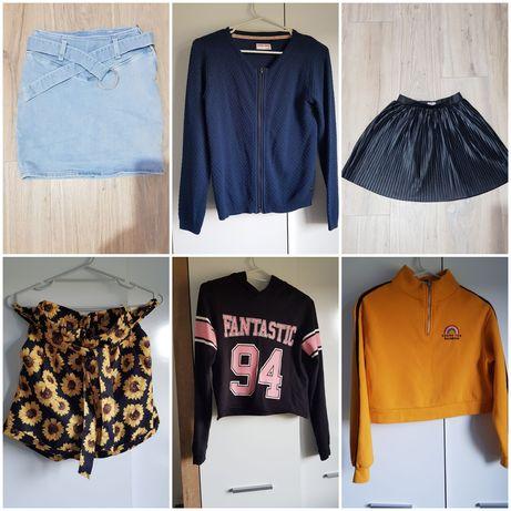 Sprzedam ubrania na 11 -12 lat dla dziewczynki