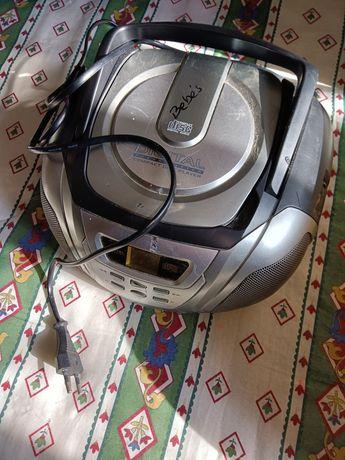 Rádio com CD usado