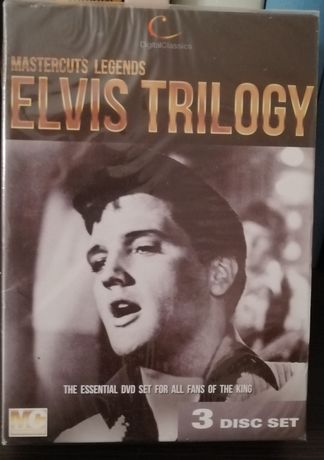 Elvis Trilogy. 3xDVD