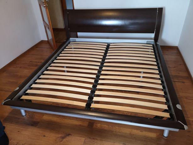 Łóżko sypialniane, łoże metalowe, małżeńskie, rama łóżka 180x200 cm.