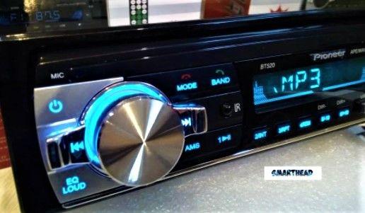 Автомобильная магнитола Pioneer JSD с крутым звуком. Новая