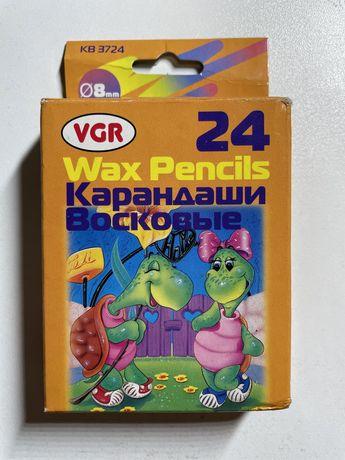 VGR восковые карандаши 24 шт