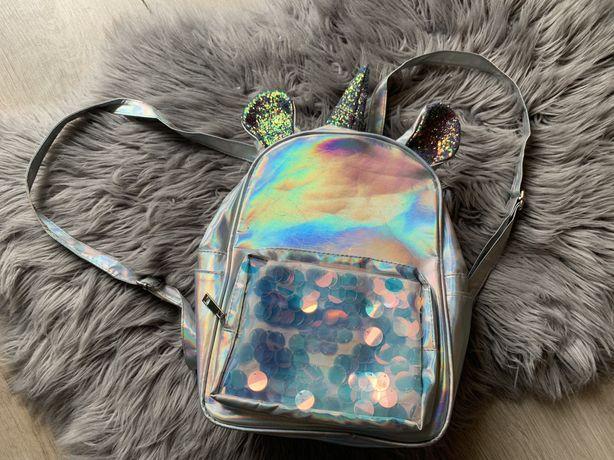 Plecak holograficzny Unicorn