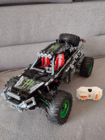 Jak Lego Buggy 4x4 Monster silniki 9398 lub 42099 Lepin Mould King
