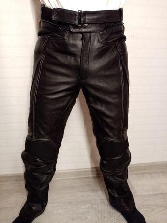 Spodnie motocyklowe FLM POLO rozmiar 48 na motor motocykl! skórzane