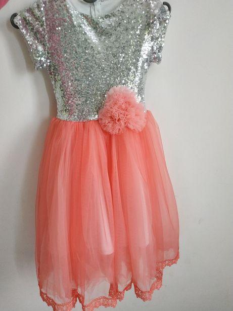 Платье для девочки, выпускное, нарядное, на праздник