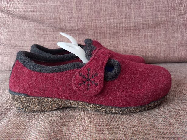 Fischer шерстяные тапочки тапки туфли чуни ботинки шлепанцы 39 р. 24,5