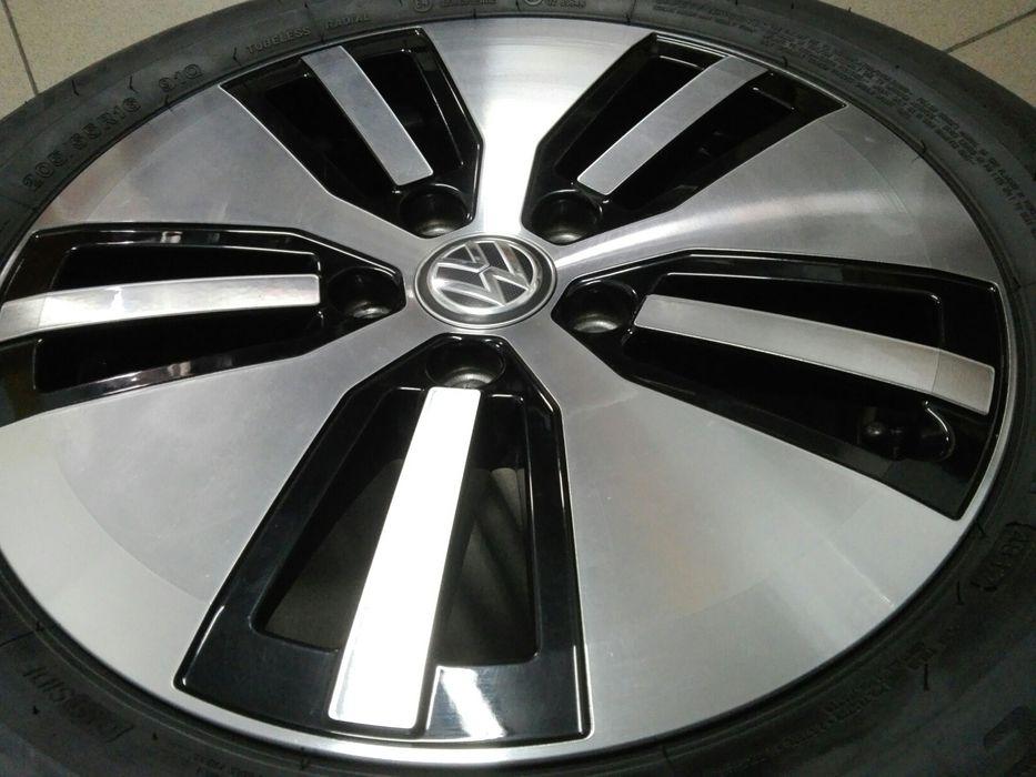 Nowe Felgi Volkswagen 16 Cali 5x112 czarne Polerka Oryginał Mogilany - image 1