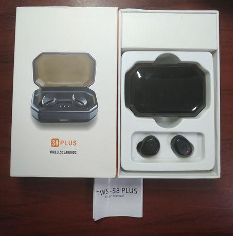 Безпроводные наушники TWS S8 Plus с Повербанком