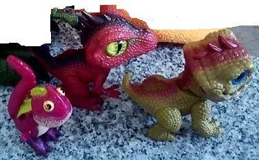 Dinossauros variados