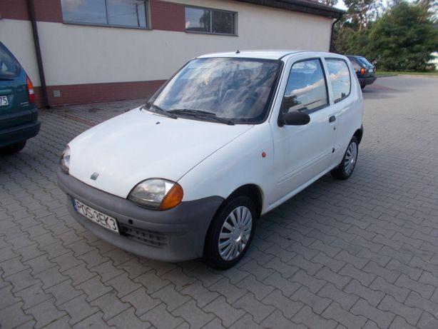 Fiat Seicento na Czesci Kolor Bialy Kod Koloru 249F Silnik 1,1 Benzyna